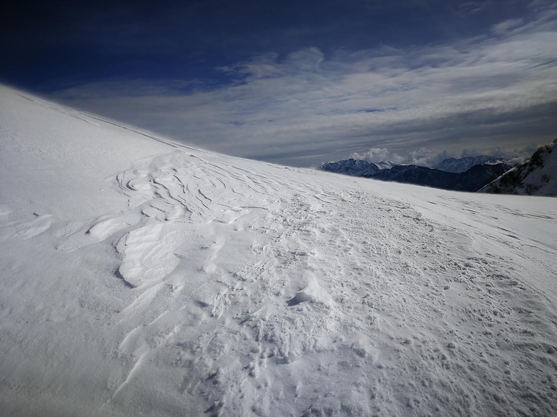 monte avaro invernale