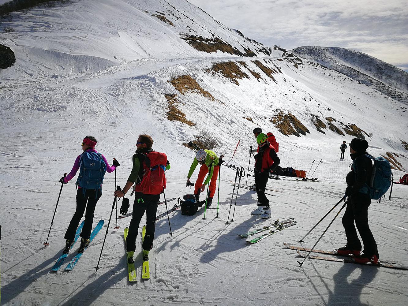gruppo sci alpinismo cai valcalepio