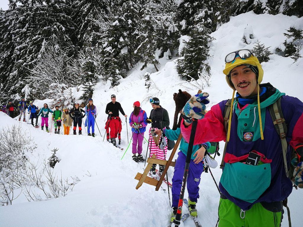 gruppo scialpinismo vodala