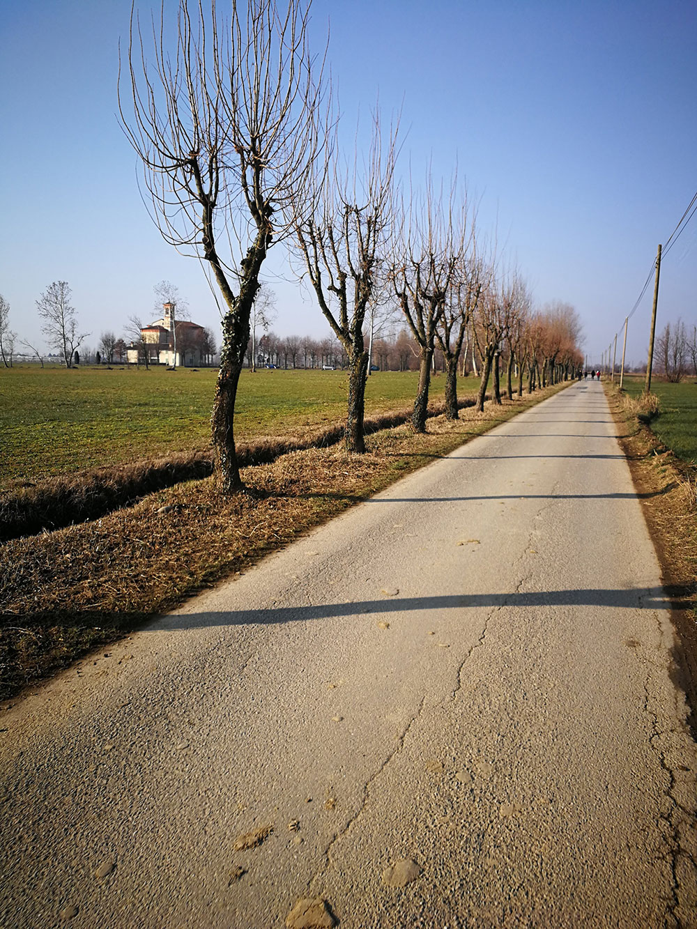 strade secondarie in bici