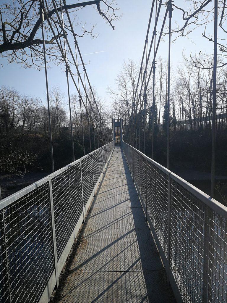 ponte pedonale filago