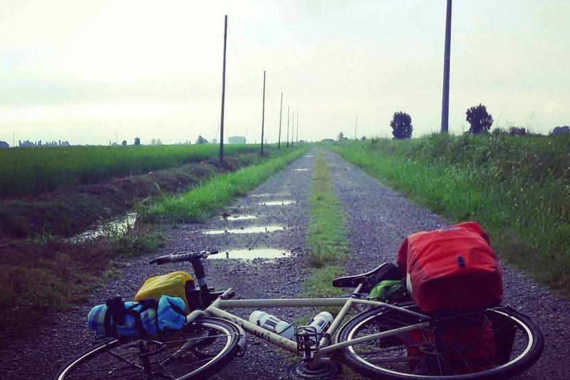 Da Aosta a Santa Maria di Leuca, in sella alla mia bici.