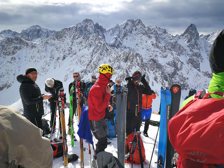 ski touring val di scalve
