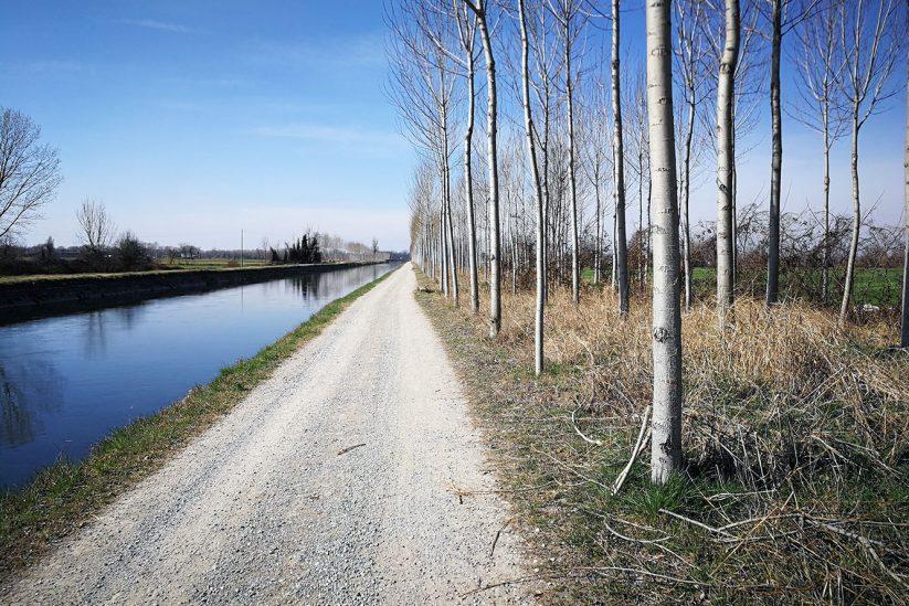 Da Bergamo verso Sud alla scoperta del canale Vacchelli