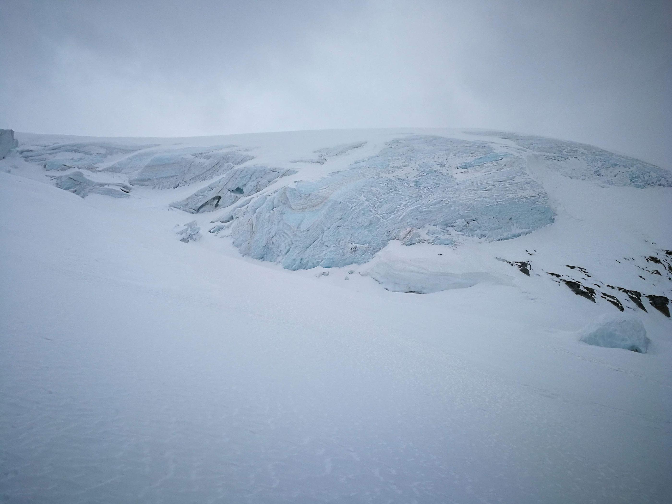 Grand Paradiso ghiacciaio