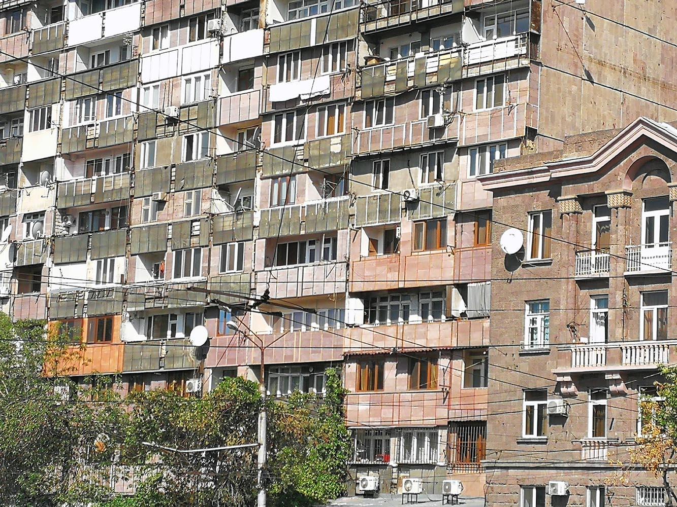 case popolari sovietiche