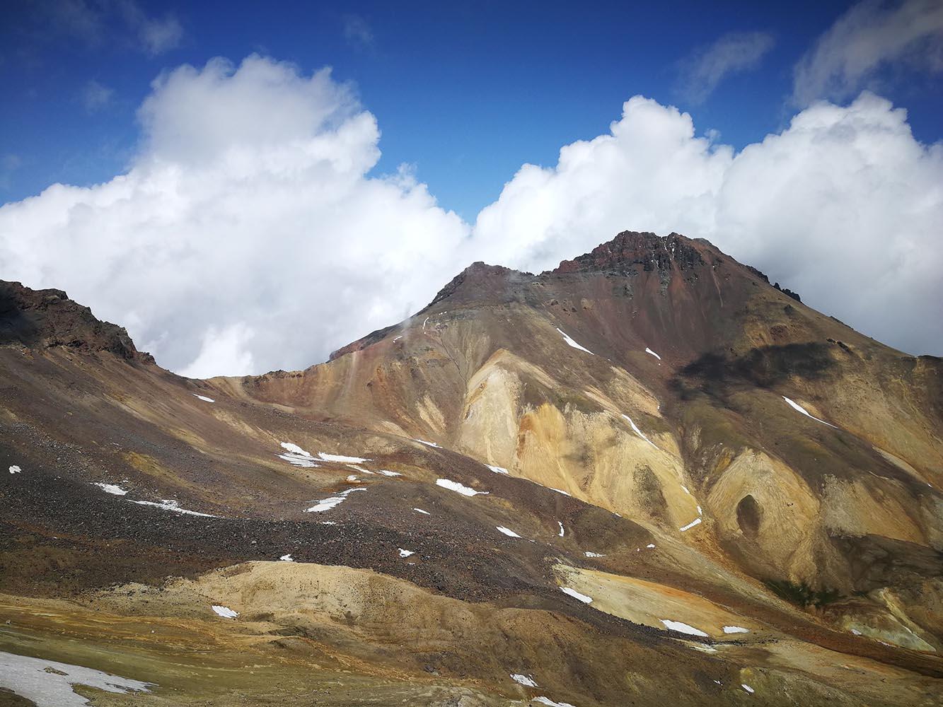 cratere monte aragats