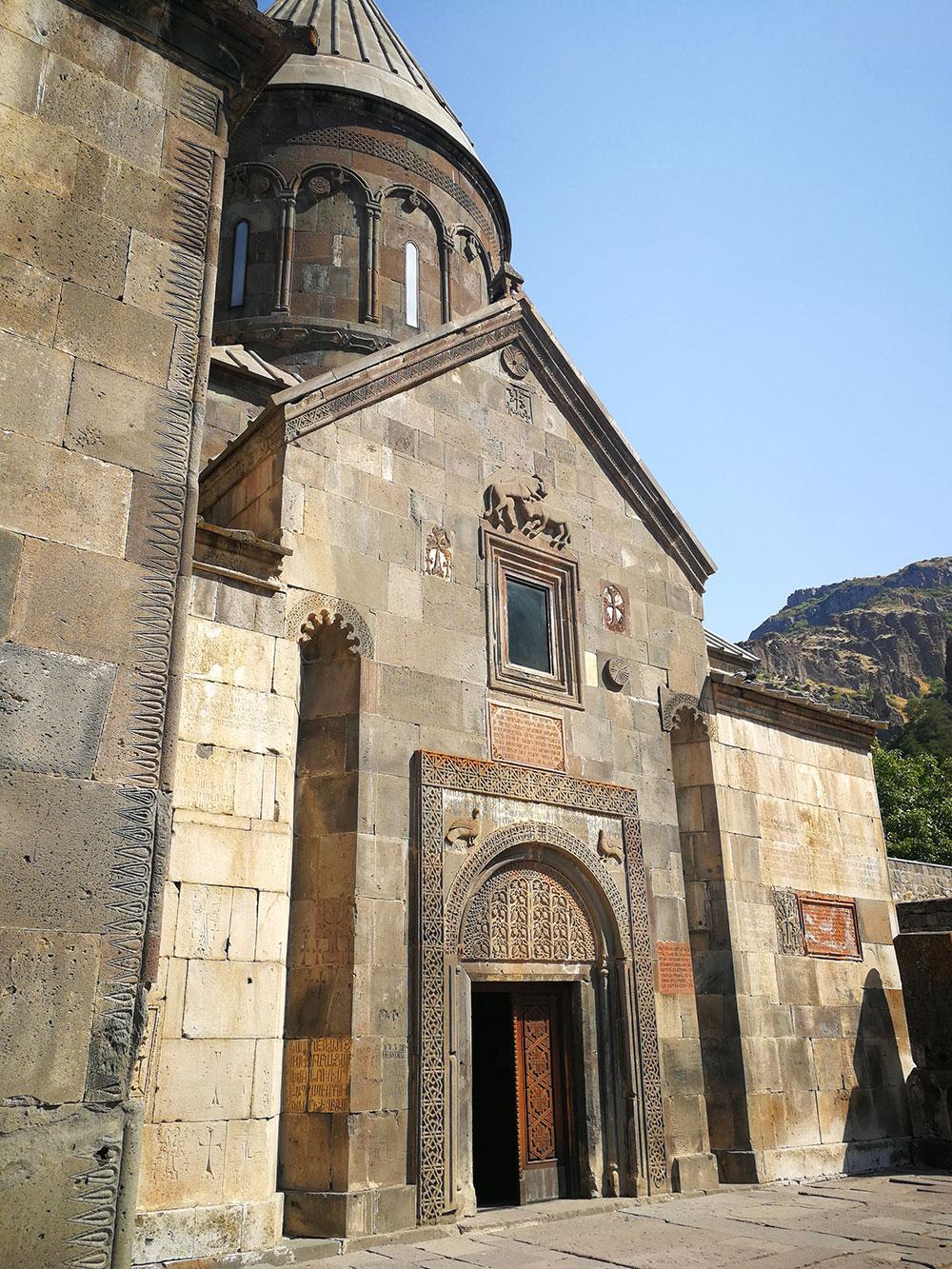 geghard garni armenia