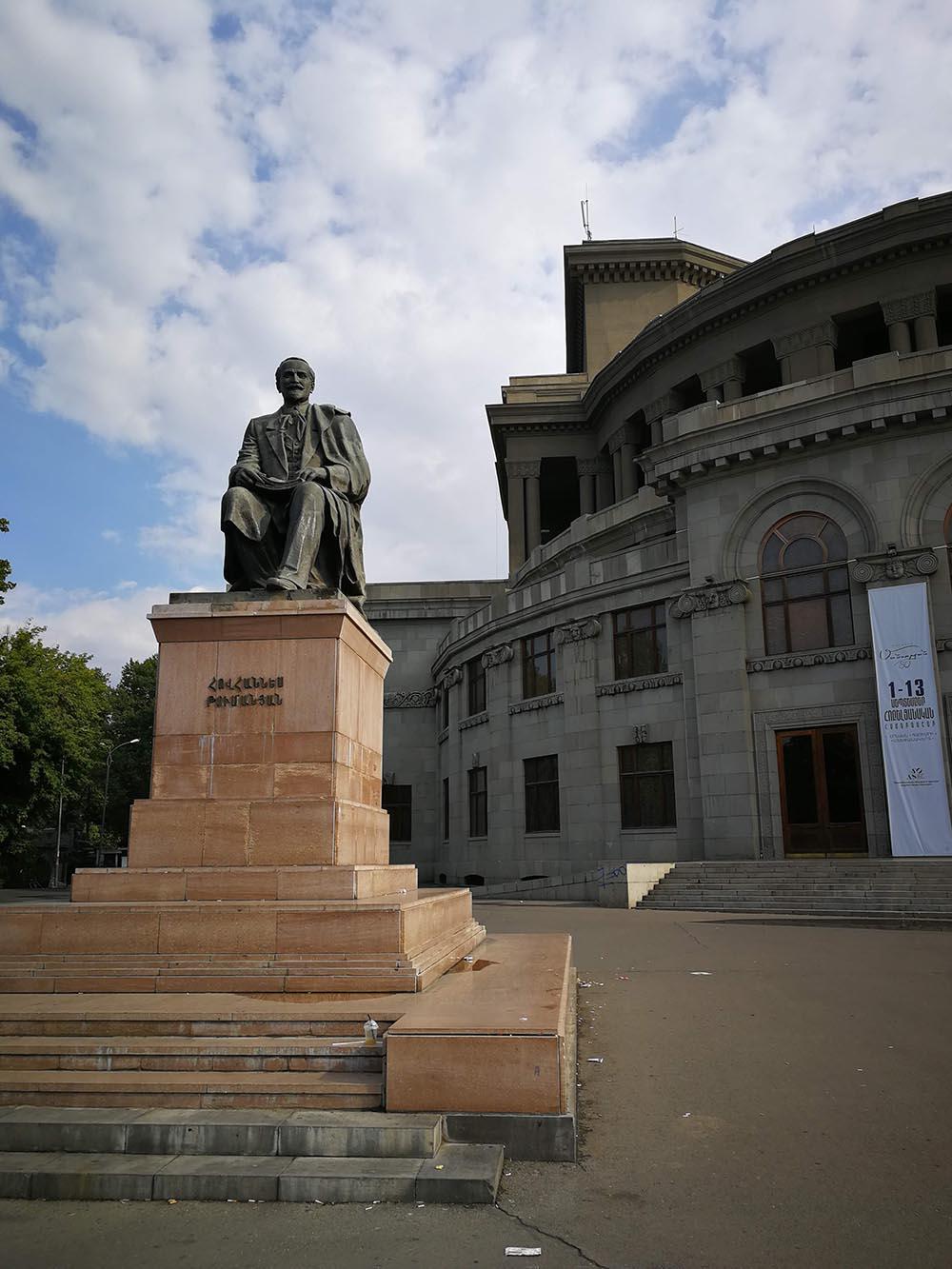 opera square yerevan