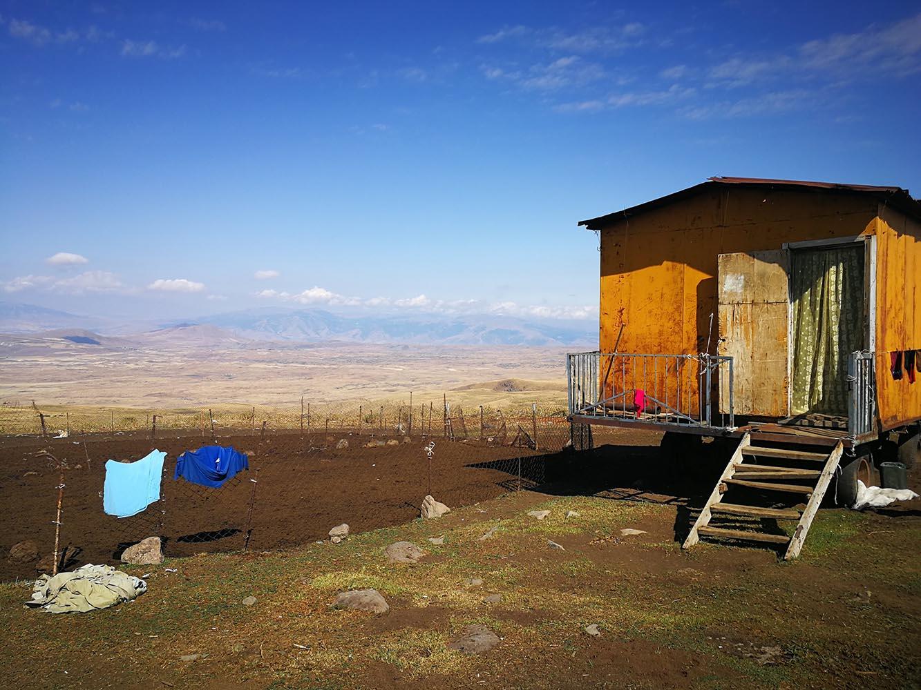 villaggio pastori