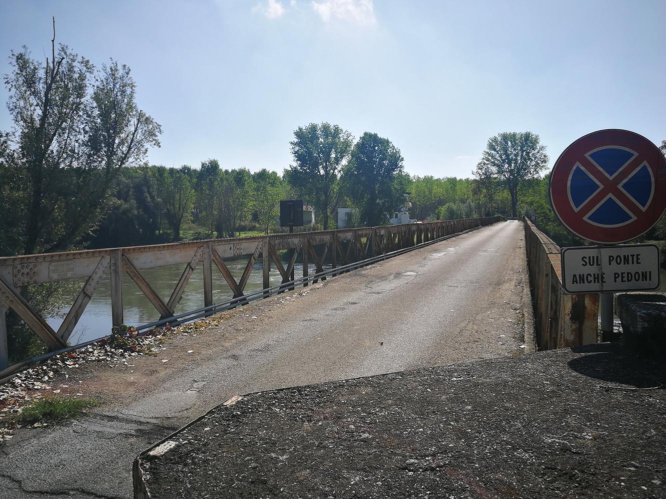 fiume oglio in bici