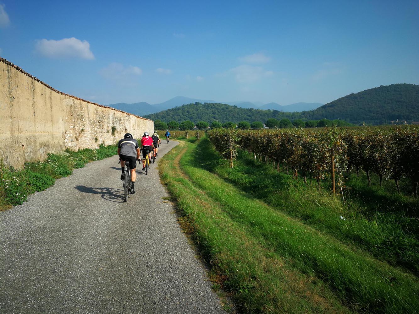 itinerario bici franciacorta