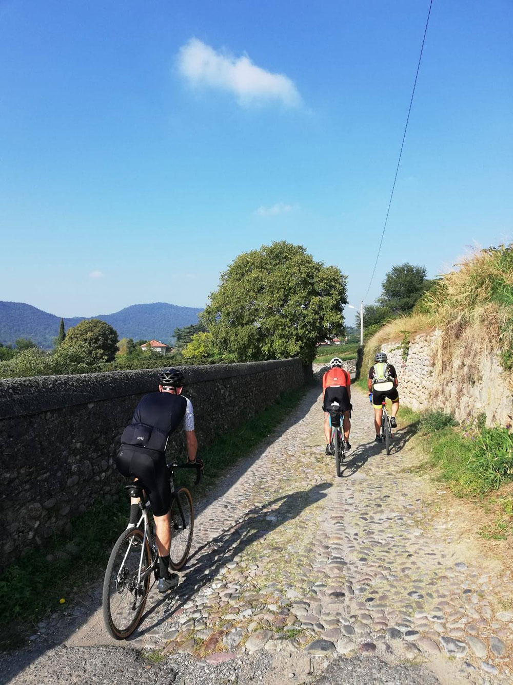 itinerario gravel franciacorta