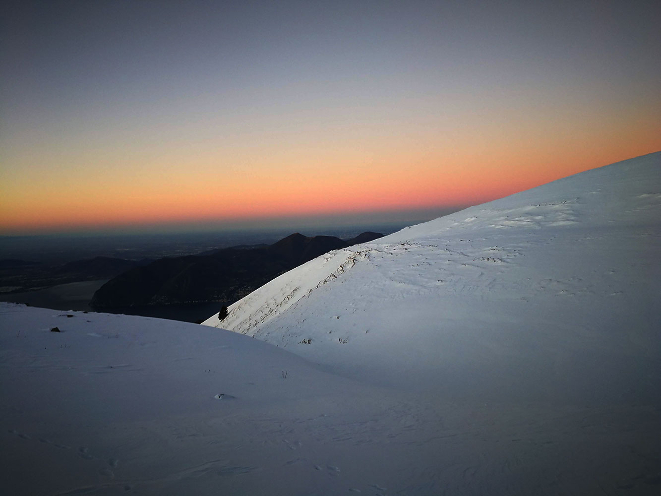 alba sul monte guglielmo