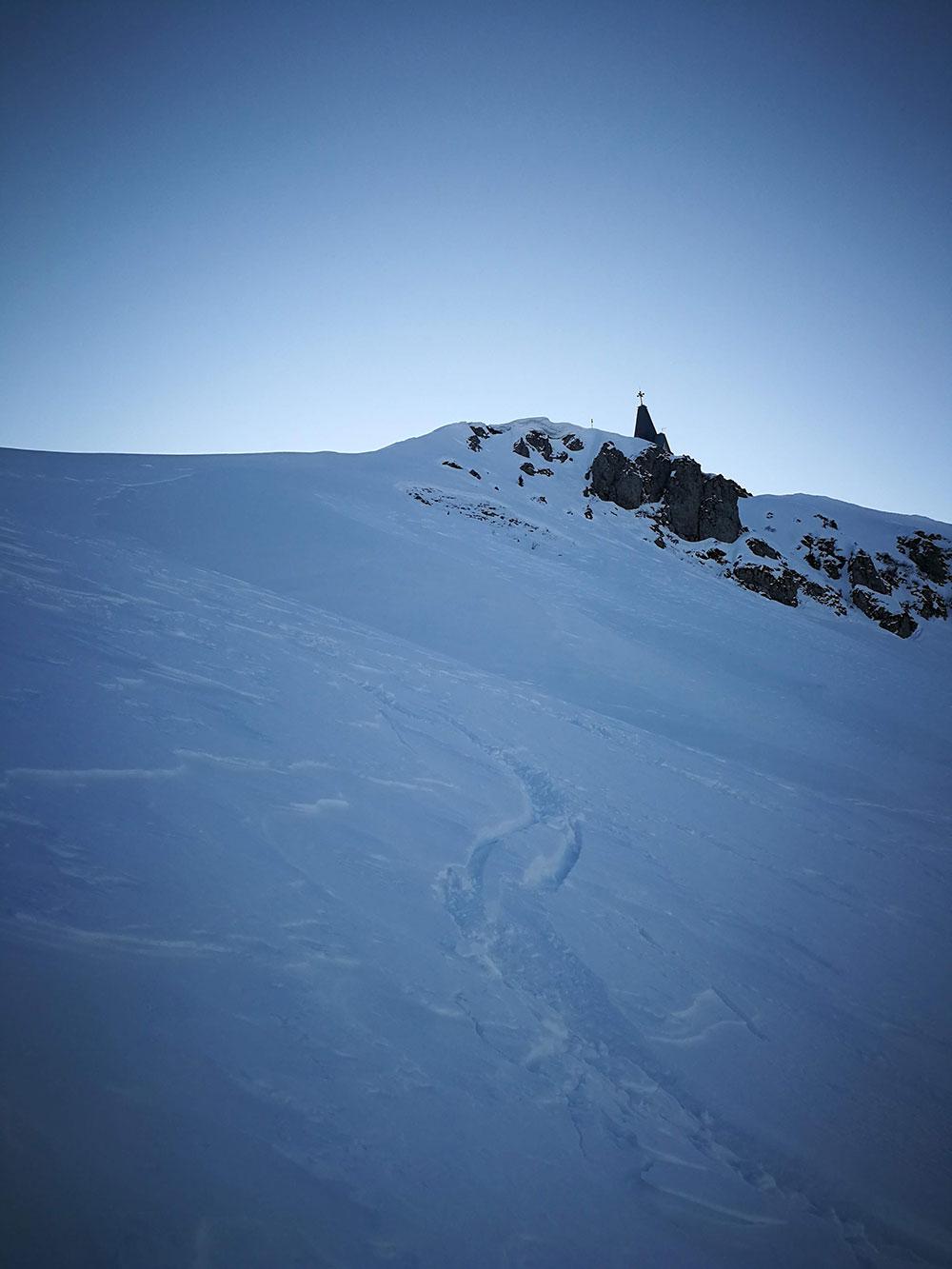 direttissima scialpinismo monte guglielmo