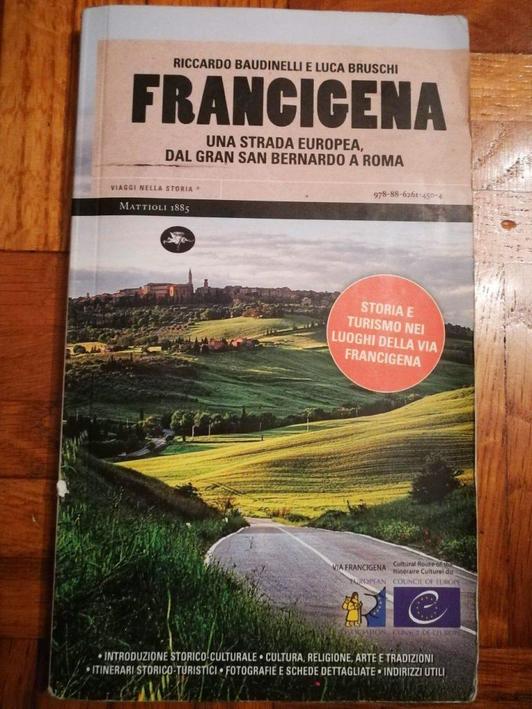 libro guida via francigena