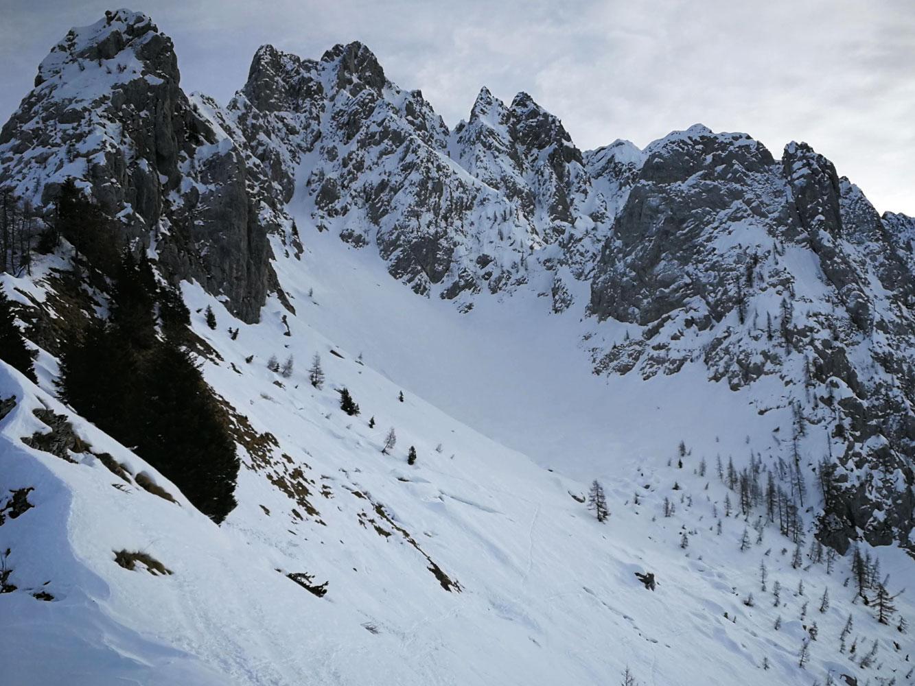 pizzo camino scialpinismo