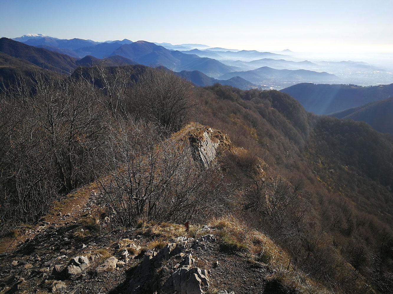 trekking bergamo canto alto