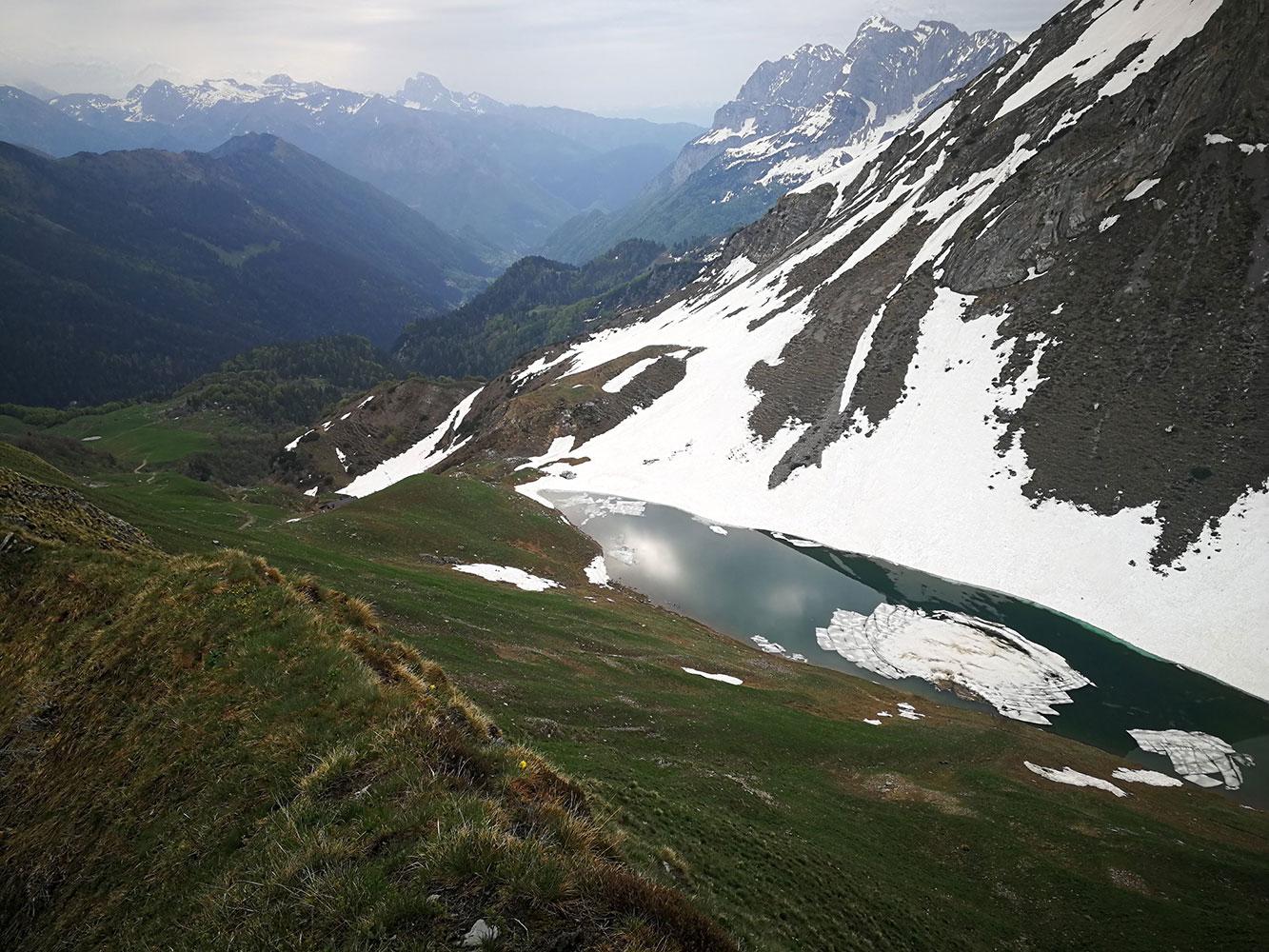 lago branchino vista aerea