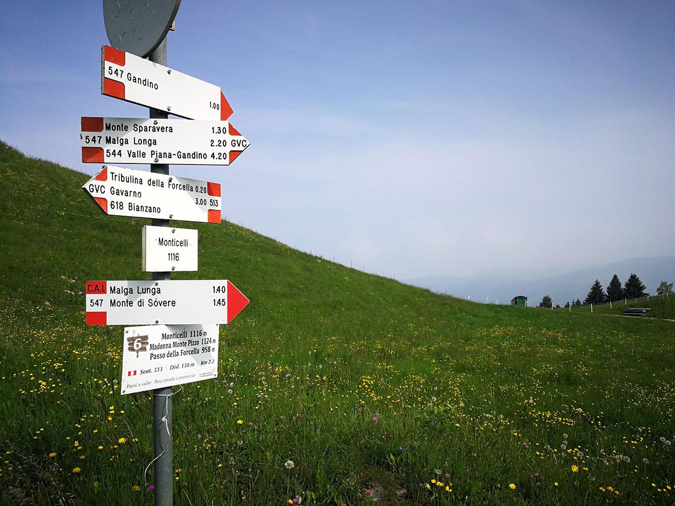 Località Monticelli Altopiano Valgandino