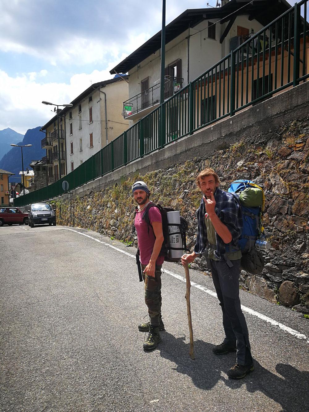 compagni di escursione