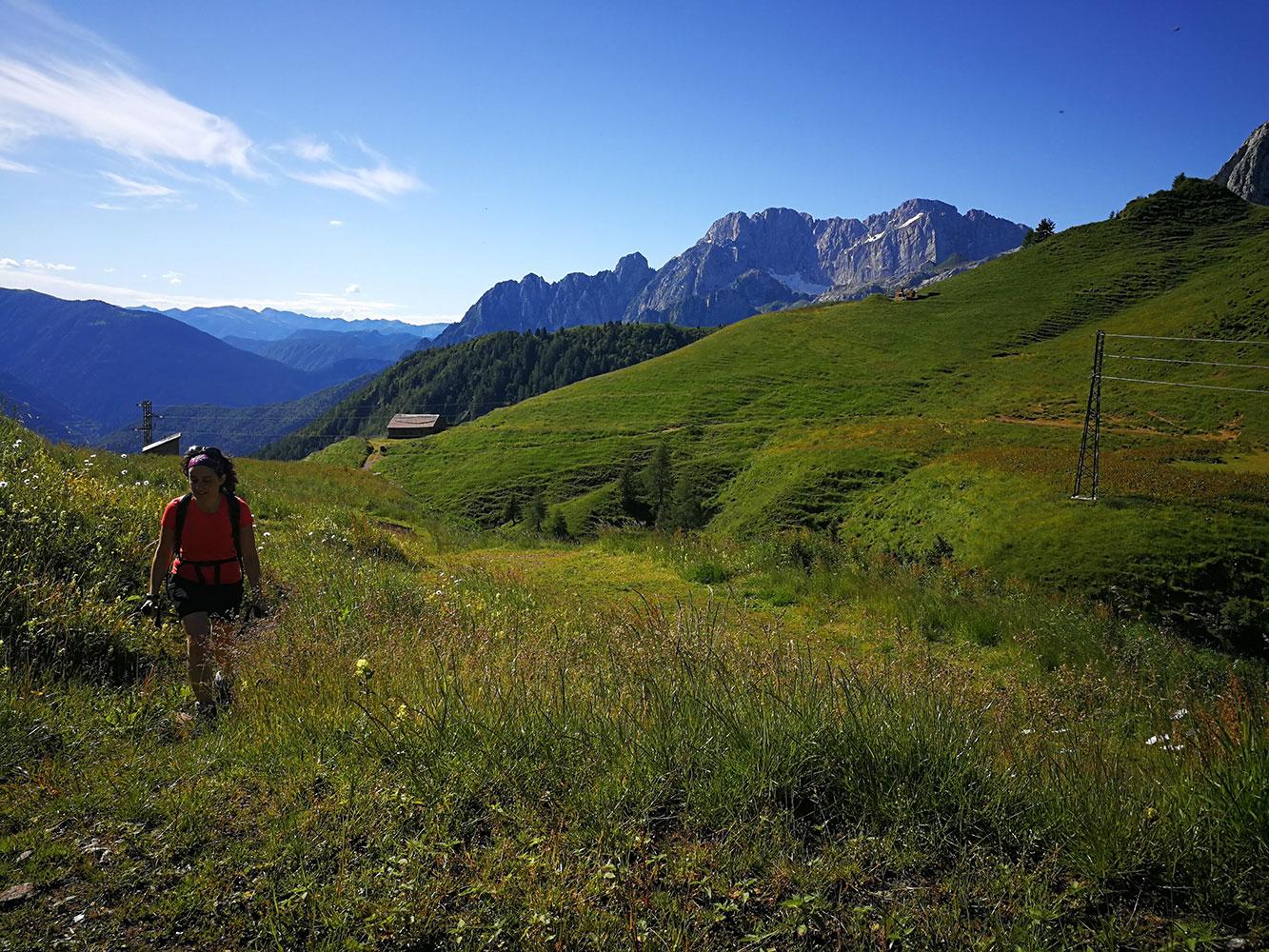 Gite ed escursioni in montagna con accompagnatori