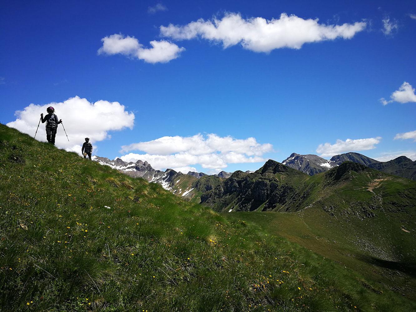 Monte Sasna itinerario ad anello