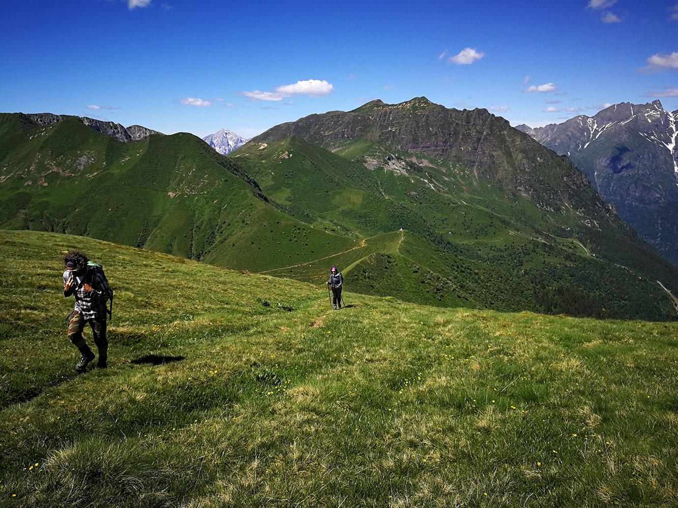 Dorsale Passo Manina Monte Sasna