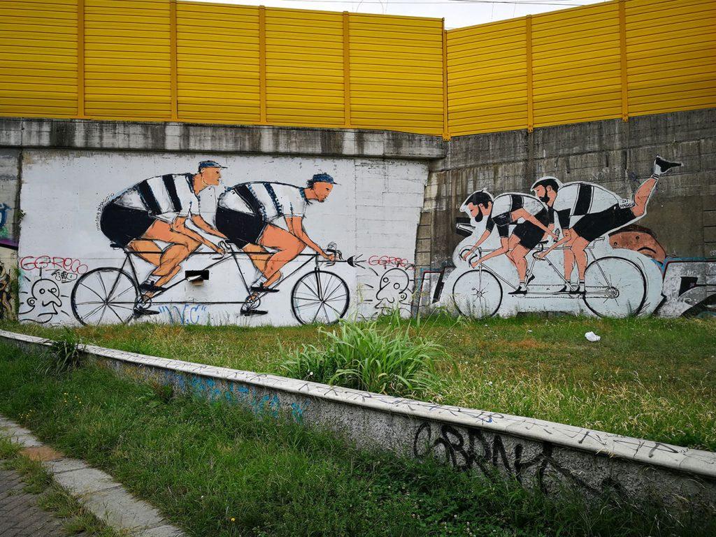 murales ciclabile naviglio martesana