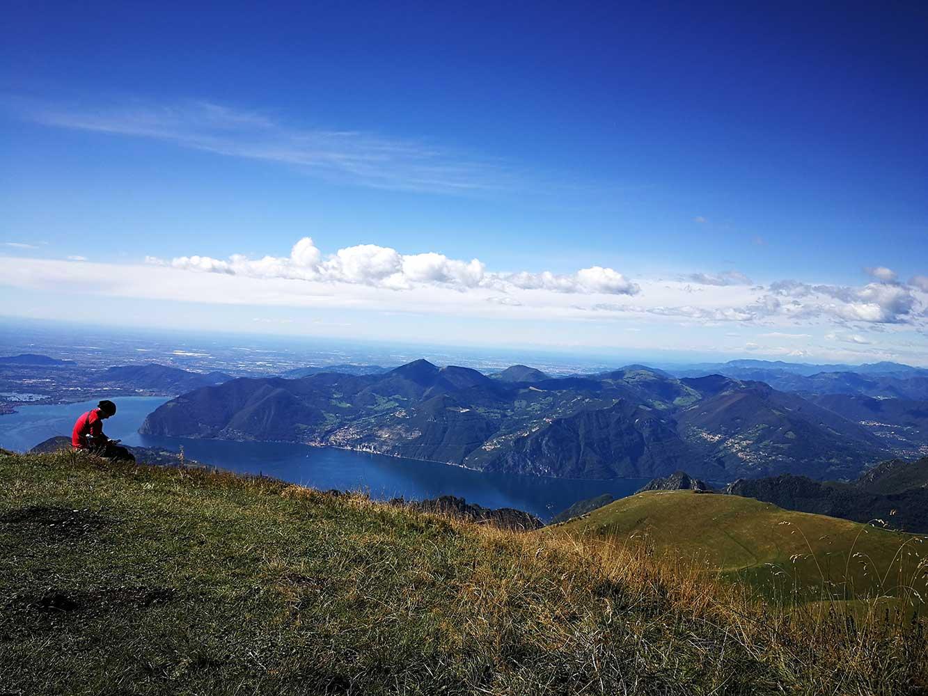 vista panoramica monte guglielmo