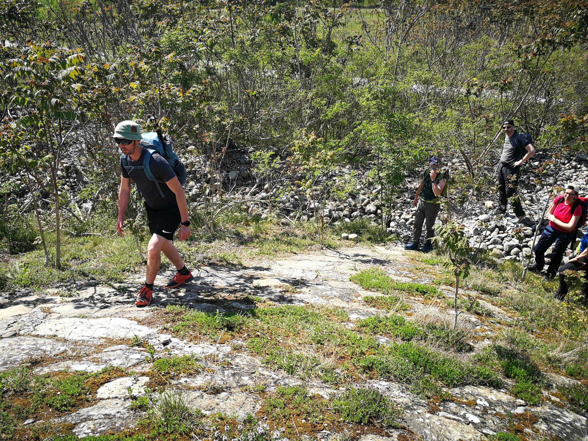 tecniche di camminate escursionismo