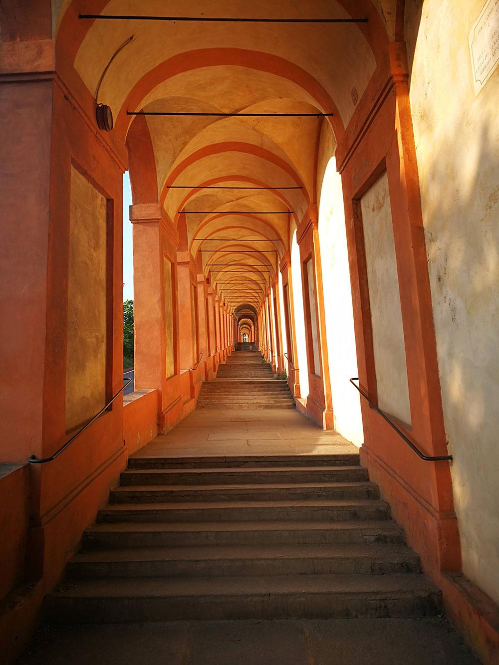 portico san luca santuario bologna
